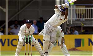 Tillekeratne batting against England