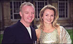 Les Dennis and Amanda Holden