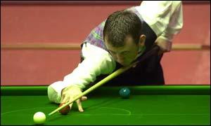Snooker star Mark Williams
