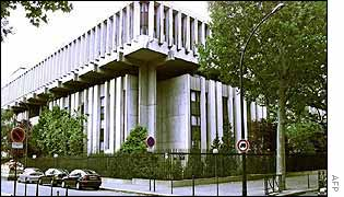 The Russian embassy in Paris