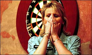 Trina Gulliver was overcome with emotion after winning last year at the Lakeside