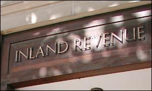 Inland Revenue building entrance