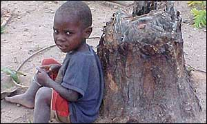 Child in Zambia