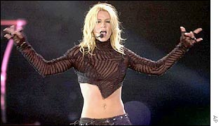 Britney performs in Mexico