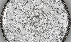 The Great Dish - which is part of the Mildenhall Treasure. Copywright: British Museum
