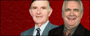 Bill McLaren and Brian Cox