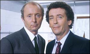 Jasper Carrott and Robert Powell in The Detectives