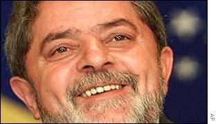 Brazilian President-elect Luiz Inacio Lula da Silva