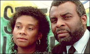 Doreen and Neville Lawrence