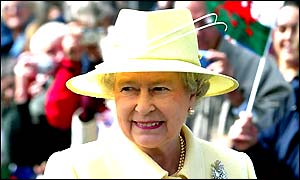 Her Majesty Queen Elizabeth II in Cardiff