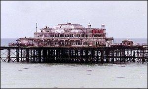 Brighton's West Pier