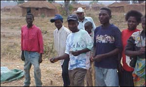 Former Unita soldiers