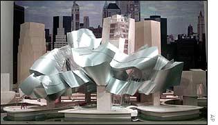 Planned Guggenheim Museum