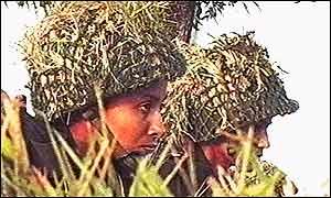 Bangladeshi army women