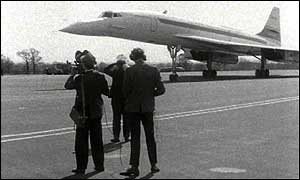 Concorde in its early days