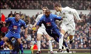 Bakke heads Leeds into the lead