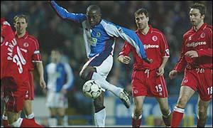 Blackburn's Dwight Yorke sinks Middlesbrough