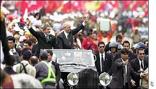 Lula and Vice-President Jose Alencar