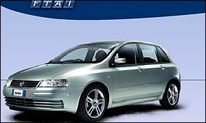 Fiat Stilo, the firm's newest car