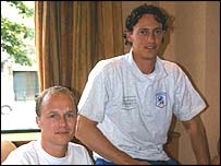 JJ Esmeijer (left) and  Henk-Jan Mol
