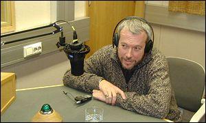 Андрей Макаревич в студии Русской службы Би-би-си