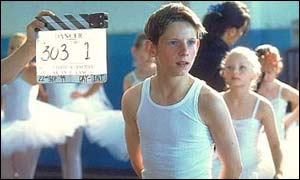 Jamie Bell in Billy Elliott