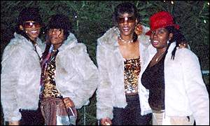 From left: Cheryl Shaw, Charlene Ellis, Sophie Ellis and Latisha Shakespeare