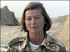 Kate Adie in the Gulf