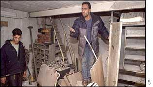 Gaza workshop hit by Israeli missiles