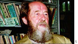 Alexander Solzhenitsyn in 1994