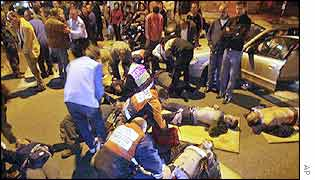 Victims of Tel Aviv bombing, January 2003