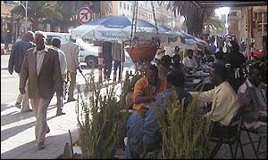 Cafe in Asmara