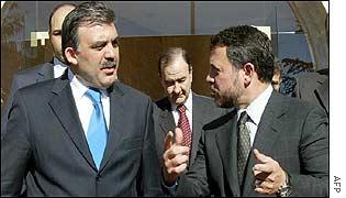 Abdullah Gul and King Abdullah