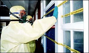 Bio-hazard suit