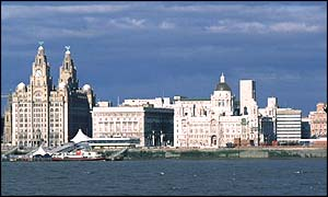 Liverpool's waterfront