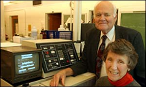 Professor James and Professor Dorothy Morre