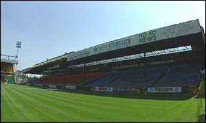 Carrow Road stands
