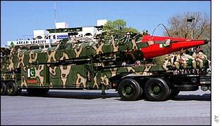 Pakistan Ghauri missile