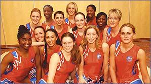 The England netball team