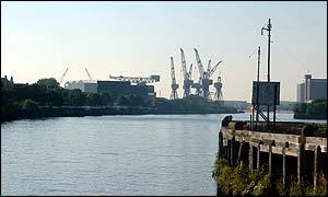 Clyde cranes, Glasgow
