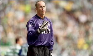 Former Celtic goalkeeper Jonathan Gould