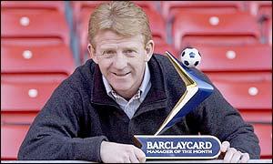 Southampton manager Gordon Strachan
