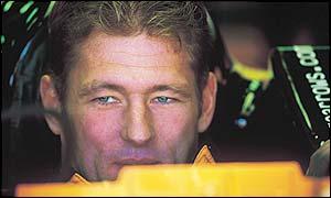 New Minardi driver Jos Verstappen