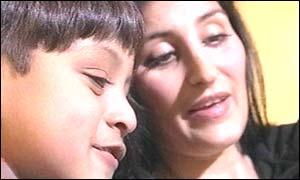 Zain and Shahana Hashmi