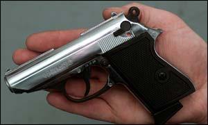 A Lady K replica gun