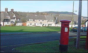 Llandarcy village