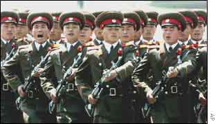 N Korean soldiers