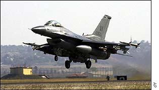 US F-16, Incirlik airbase