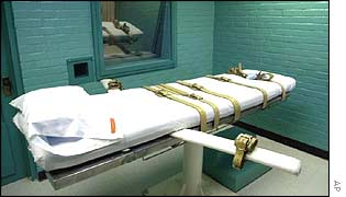 A death chamber in Texas