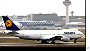 Lufthansa reported higher traffic numbers in December